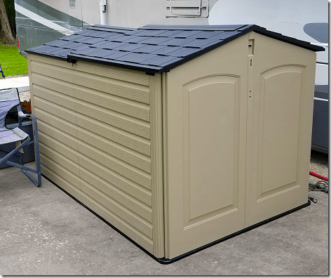 Rubbermaid Shed with Doors
