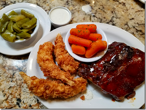 Cheddar's Ribs and Tenders