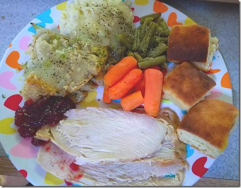 Thanksgiving 2020 Plate