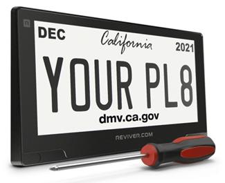 Digital Car Tags