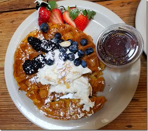 Sunflower Cafe Pumpkin Waffle