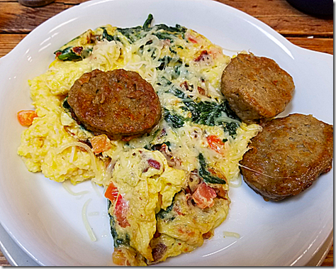 Sunflower Cafe Sausage and Grits