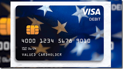 IRS Stimulus Debit Card