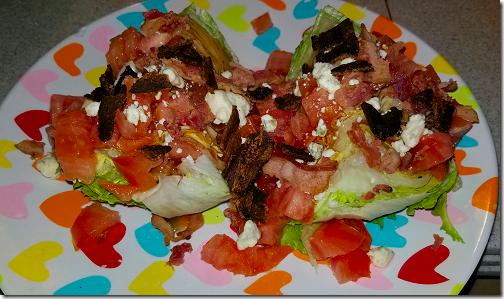 Homemade Wedge Salads