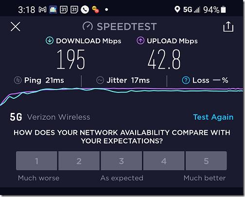Montgomery 5G Speed