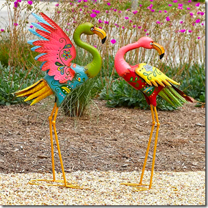 New Facebook Flamingos