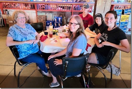 Rosie's Cantina - Helen, Darby, Luke, Harland