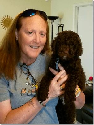 Sharon Hosea and Friend Clear Lake Pets