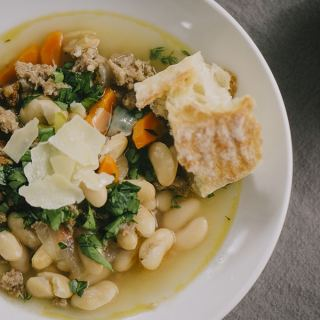 Cannellini Bean and Sausage Soup (All Diet Friendly)