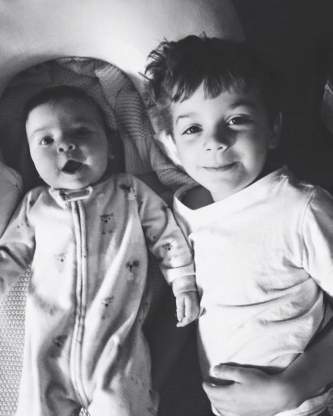 Two adorable little dudes.
