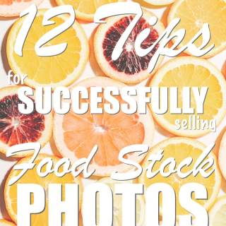 Tips from industry stock photography veterans on how to make a passive income selling your food photography for stock. Tried and true strategies for maintaining a successful stock food portfolio.