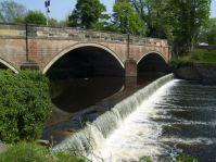 The River Goyt, Otterspool Weir