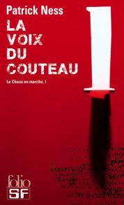Le chaos en marche - La voix du couteau (couverture)