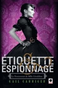 Le pensionnat de Mlle Géraldine, T1 (couverture)