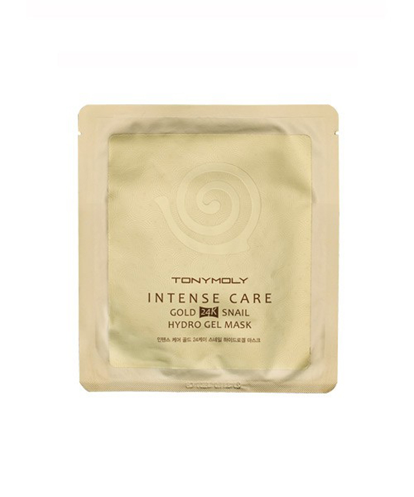 intense-care-snail-gold24K-hydrogel-mask-TonyMolt