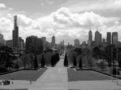 From the Anzac Monument