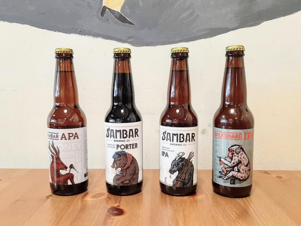 禾火選物|《水鹿精釀啤酒》,台灣在地釀製出豐富細緻口感