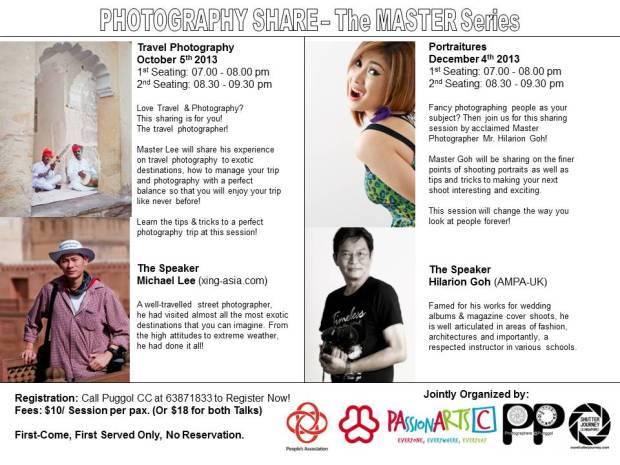 PCC Photo Talks