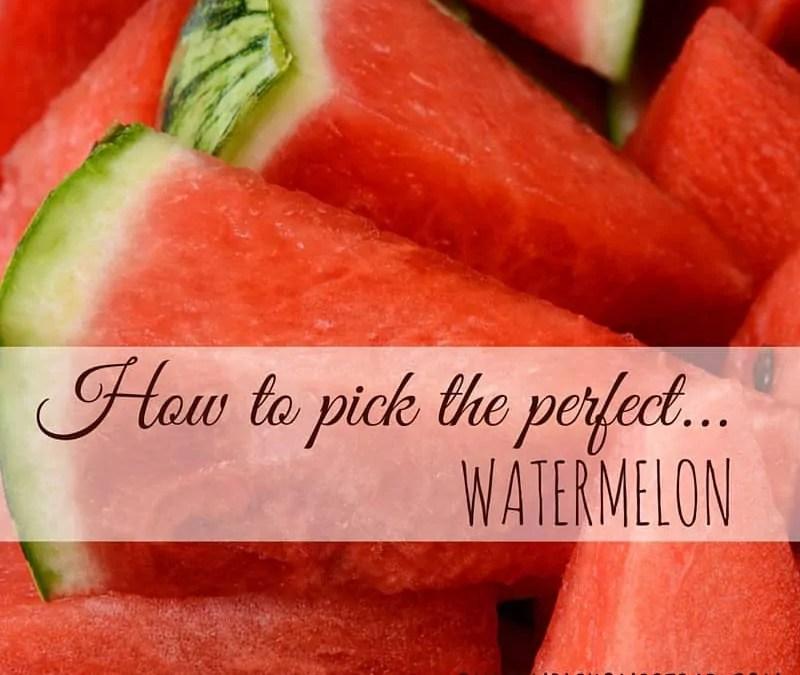 Perfect Watermelon