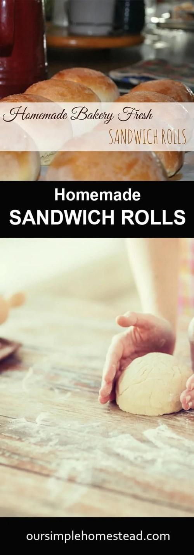 Homemade Sandwich Rolls