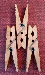 old fashion clothespins