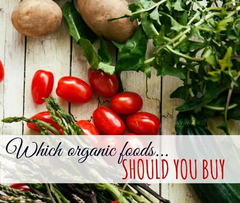 what organic foods should you buy