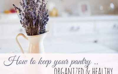 How to Keep Your Pantry Organized & Healthy