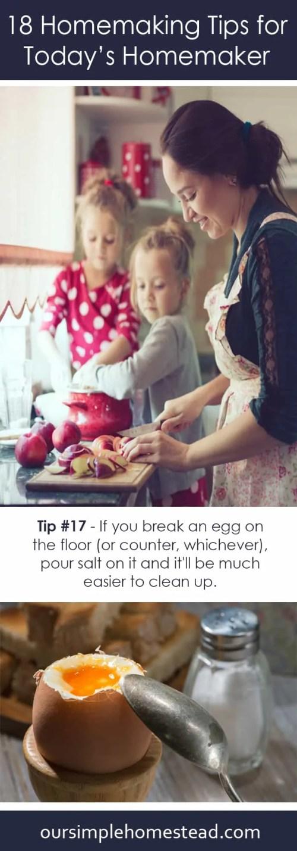 18 Homemaking Tips for Today's Homemaker