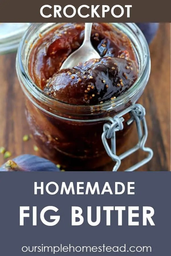 fig butter recipe