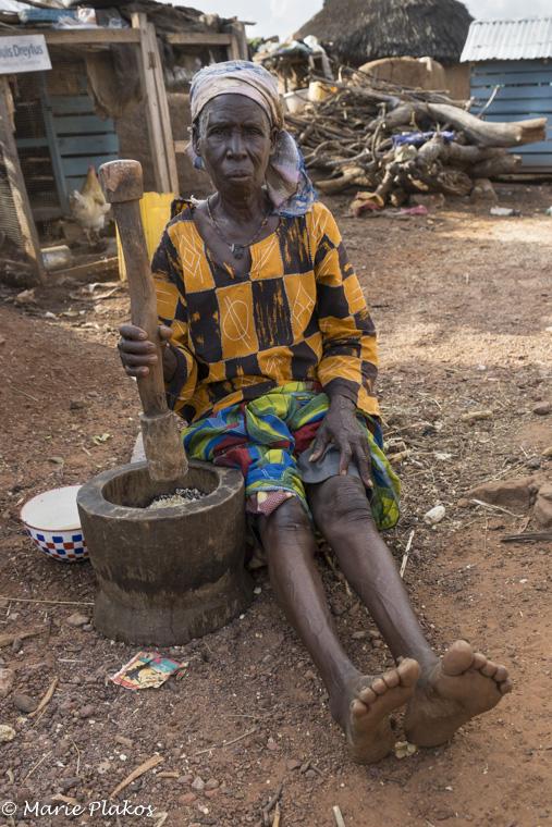 Grinding Corn, Gambaga Witch Camp
