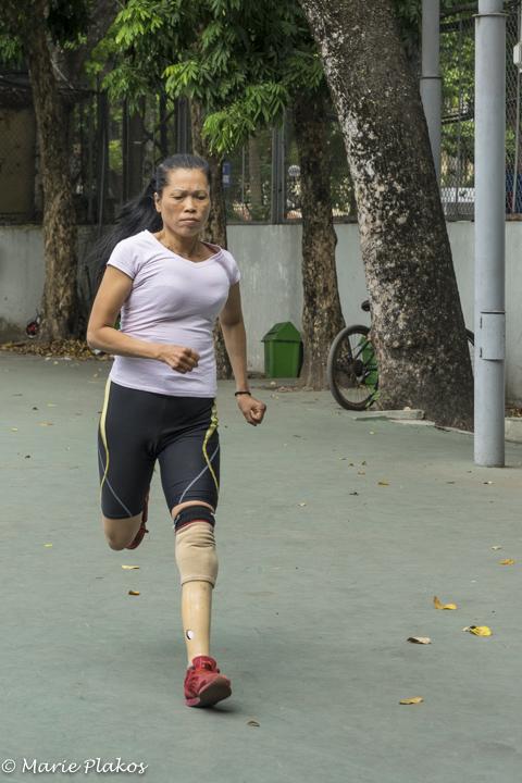 Nguyen running
