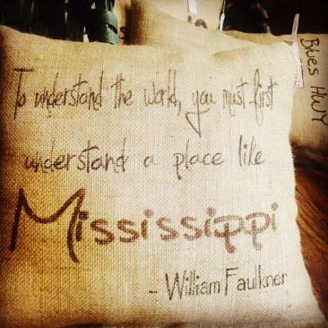 I grew up in the Mississippi Delta but didn't appreciate it until I moved away