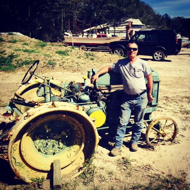I traded boats for a truck, an antique bulldozer, and a hot rod car that I still don't need