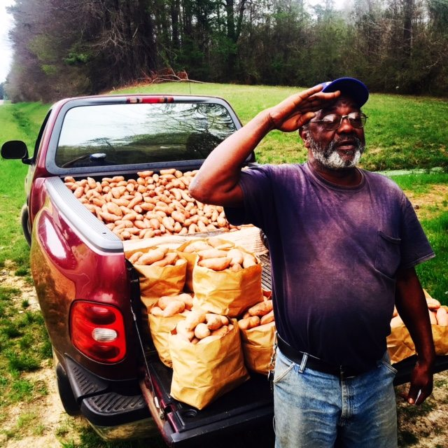 I have been selling sweet potatoes by the side of the road for about four years. They are supposed to be good for you