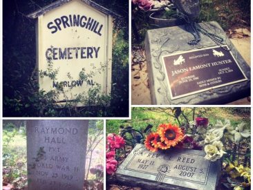 If we die before the world ends, this is where we will be laid to rest. All of my family is here