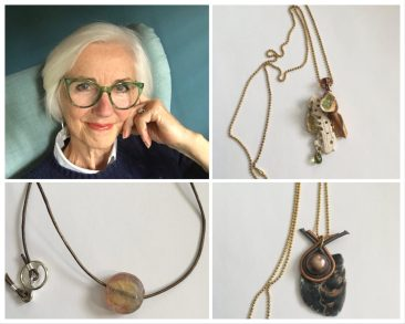 I am giving away the jewelry I make to people who are helping others during this time
