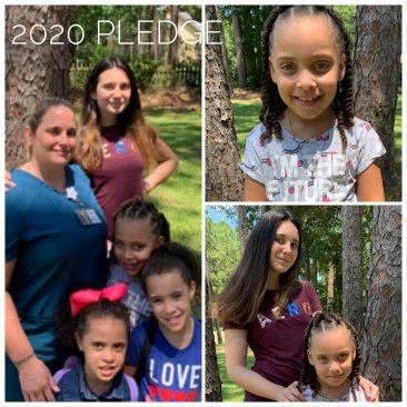 I teach my kids kindness and to give back