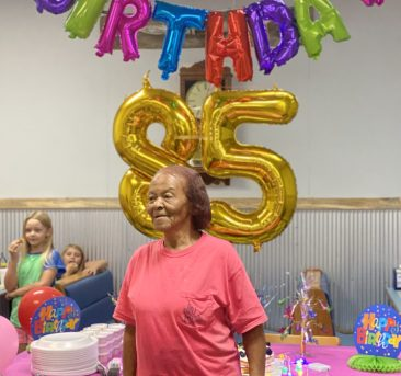 I turned 85 today