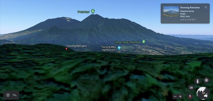 Gunung Kencana Bogor dan lanskap indah di sekitarnya