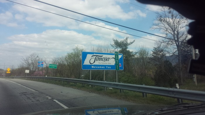 Welcome to Tennessee | Our Streamlined Life
