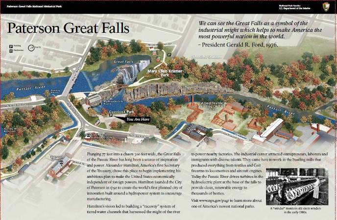 Paterson Great Falls National Historical Park 2 Our Streamlined Life