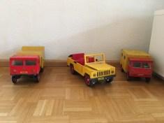 Opa's handmade trucks