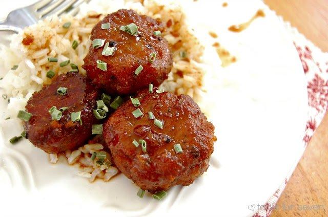 Chicken Teriyaki MeatballsCrock Pot