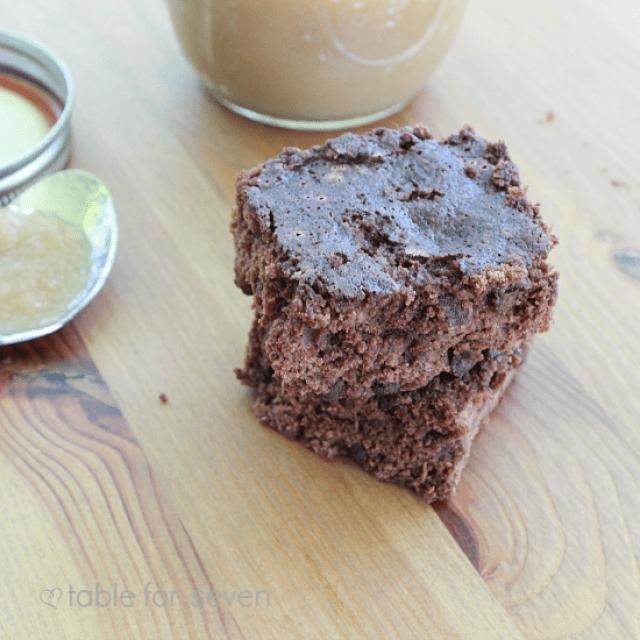 Low Fat Applesauce Brownies
