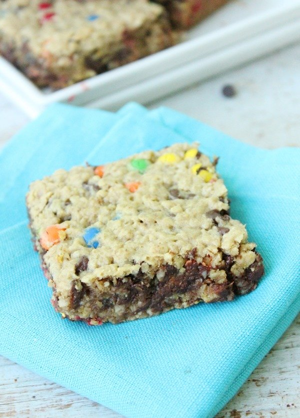 Monster Cookie Bars: Table for Seven