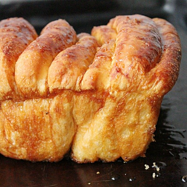 Vanilla Orange Pull Apart Bread from Table for Seven