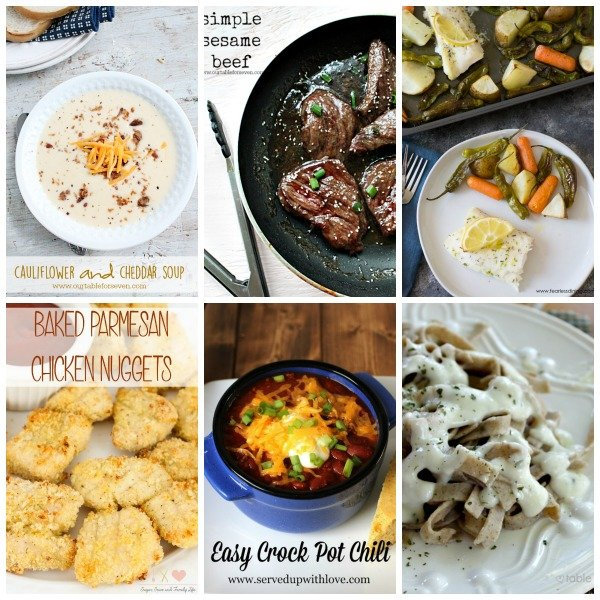 Weekly Meal Plan #53 from Table for Seven