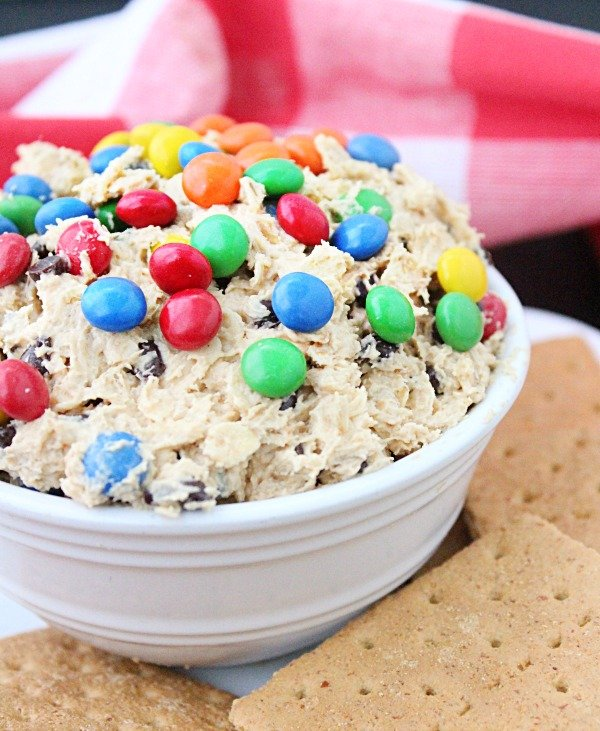 Monster Cookie Dip from Table for Seven