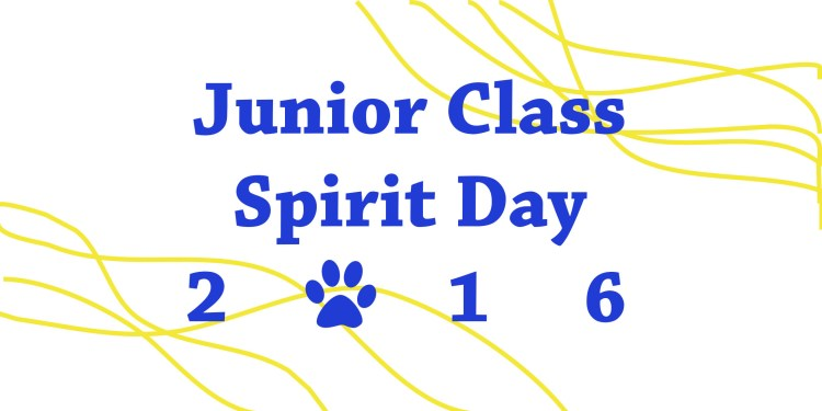 Junior Spirit day