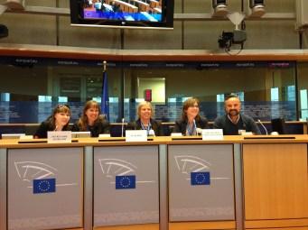 Final table in European Parliament- April 2014